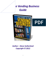 Vending Machine Business Guide