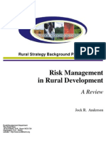 Ahmad Zubaidi Risk Management in Rural Development