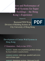 Construction and Performance of Curtain Wall System