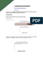 Como Utilizar la Calculadora Estadística On-line(LauraA)