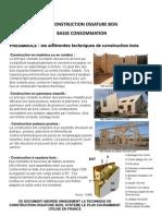 Gefosat - La Construction a Ossature Bois