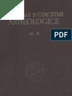 Materiale Cercetari Arheologice X 1973