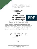 Gynéco 2010.12.10 Diabète Gestationnel