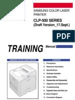 CLP-500 Series SVC Manual