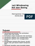 Abstract Windowing Toolkit Dan Swing