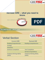 Revised GRE2.1