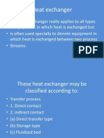 3. Heat Exchanger Clasification