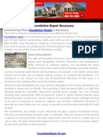Is Foundation Repair Necessary