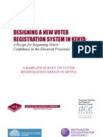 Baseline Survey Report on Voter Registration System