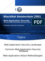 Black Hat Europe 2001 Presentation