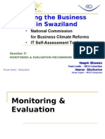 IBC SWAZILAND - Next steps for conducting Reforms 31052012