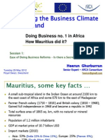 IBC SWAZILAND - Doing Business Reforms in Mauritius 30052012