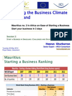 IBC SWAZILAND - Starting Business in Mauritius 29052012