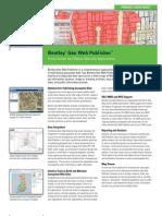 Bentley Geo Web Publisher Product Data Sheet