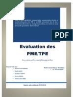 Evaluation Des PME