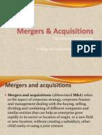 Mergers & Acquisition...Strategic Finance