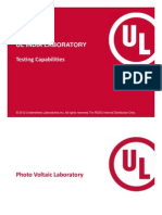 UL India Laboratory Capabilities