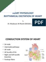 Physiology- Rhythmical Excitation of Heart by Dr. Mudassar Ali Roomi