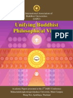 IABU 2012, Unifying Buddhist Philosophical Views