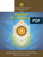 IABU 2012, Buddhist Psychotherapy