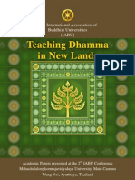 IABU 2012, Teaching Dhamma in New Lands