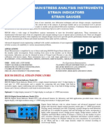 IEICOS Strain Stress Measurement Catalog