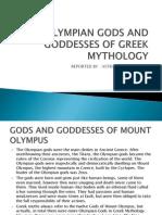 Olympian Gods and Goddesses of Greek Mythology