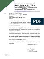 Surat Pemberitahuan Orang Tua Ukk 2011-2012 Konfirmasi