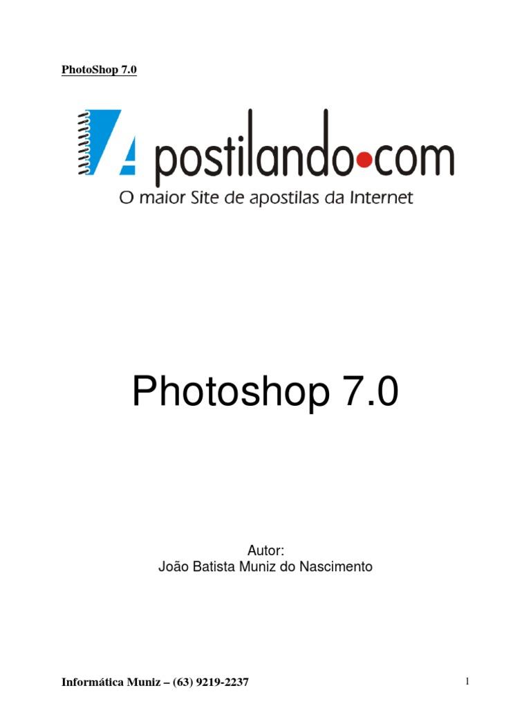 10 Apostila PhotoShop 7