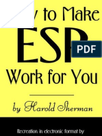 Harold Sherman - How To Make ESP Work For You