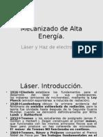 Mecanizado de Alta Energía