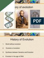 1. History of Evolution