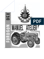 Fordson Dexta Manuel Atelier Repair Manual
