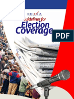 Guidelines for Elections Coverage