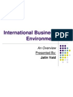 International Business Environment(1)