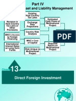 Chapter 13 - Direct Foreign Investment