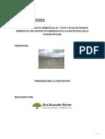 """Resumen Ejecutivo del Estudio de Impacto Ambiental Ex Post  y Plan de Manejo Ambiental del proyecto """"Urbanístico La Concepción de la Ciudad de Loja"""""""