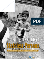 Protecting the Rights of Stateless Persons