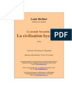 Brehier Civilisation Byzantine