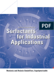Surf Act Ants for Industrial Applications