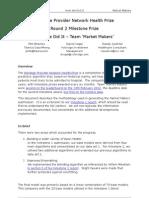 Market Makers - Milestone 2 Description