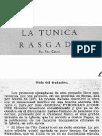 Casini - La Tunica Rasgada