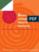 Good Occupational Health Practice