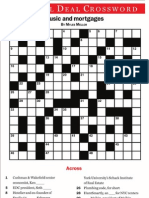 May 2012 Crossword