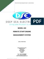 Manual Modulo DSE520