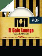Evening Menu El Gato Lounge 2012