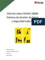 Informe sobre OSHAS 18000 Sistema de Gestión de Salud y Seguridad Laboral.docx
