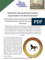 british museum co the horse fradkof limoges plates