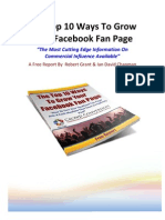 10 Ways to Grow Your Fan Page v1.2