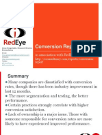 Conversion Report Summary 2009